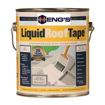 Heng's LiquidRoofTape Liquid Seam Sealer, 1 Gallon