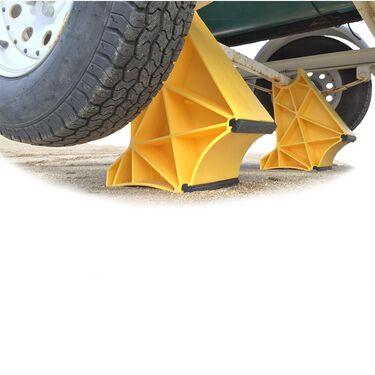 TrailerLegs Tire Saver Single Axel Set