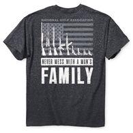 NRA Men's Man's Family Short-Sleeve Tee