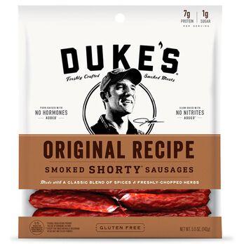 Duke's Original Recipe Smoked Shorty Sausages, 5 oz.