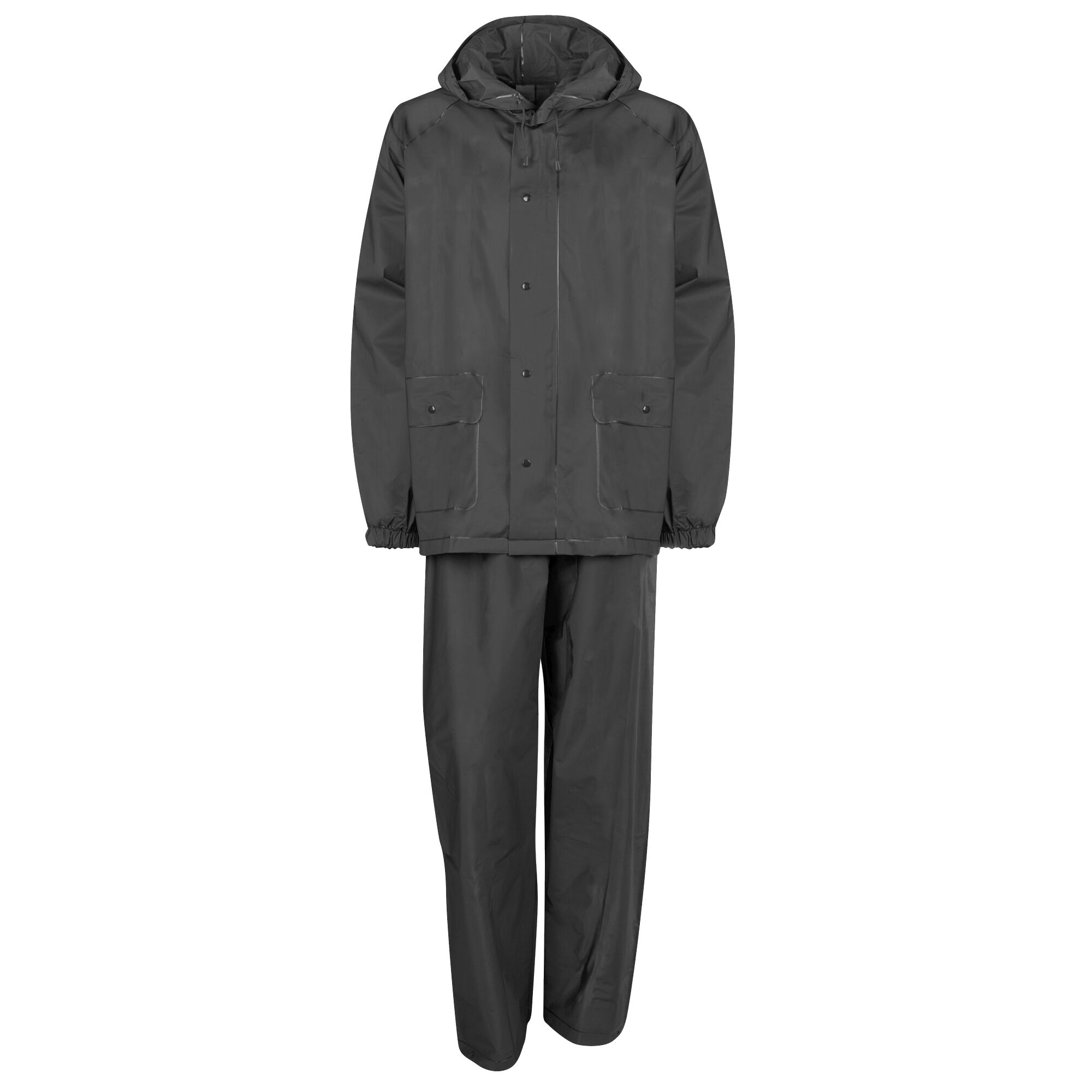 Ultimate Survival Technologies All-Weather Rain Suit Gray Adult Large Unisex