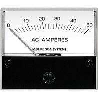 Blue Sea AC Analog Ammeter + Transformer, 0-50A