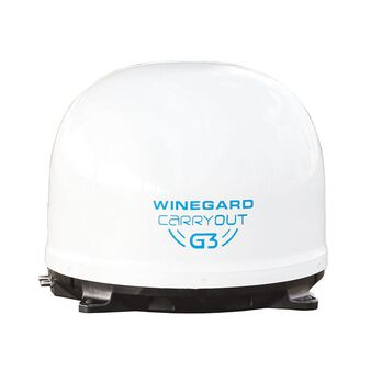 Winegard® Carryout G3 Satellite Antenna, White