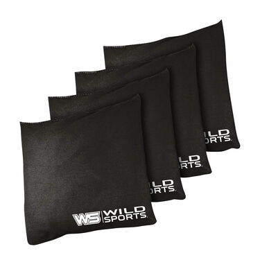 Wild Sports Authentic Cornhole Bean Bags, 4 Pack