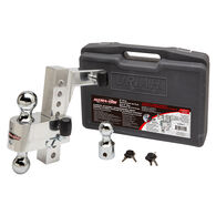 """Aluma-Tow Hitch Mount with Carrying Case, Fits 2"""" Receiver, 8"""" Drop"""