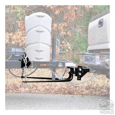 Round Bar Weight Distribution Hitch, 1400 lb.