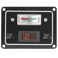 Single Battery Test Switch Panel