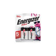Energizer MAX Alkaline 9 Volt Batteries, 2 Pack