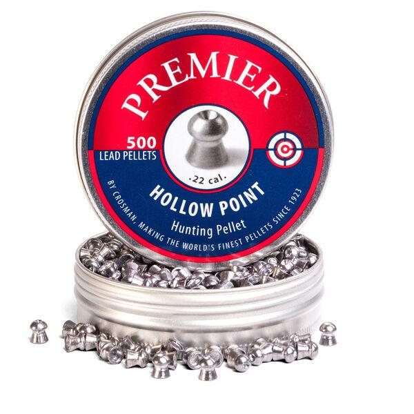 Crosman Premier Hollow Point Pellets, .22-cal., 14.3-gr., 500-ct.