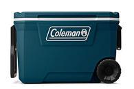 Coleman 316 Series 62-Quart Wheeled Cooler, Space Blue