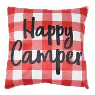 "Happy Camper Throw Pillows, 16"" x 16"""
