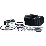Titan Spare Tire Auxiliary Fuel System, For 2011-2016 GM 2500 & 3500 Pickups with Duramax Engine
