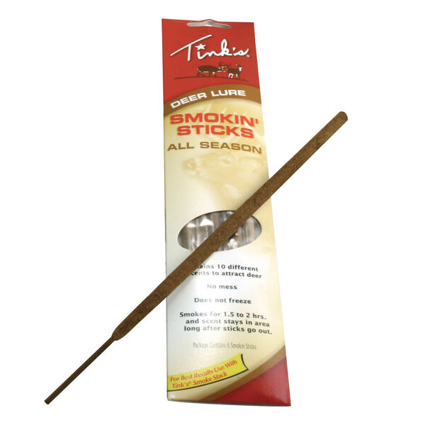 Tink's Smokin' Sticks All Season Sticks, 6-Pack