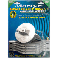 Martyr Anode Kit For Yamaha 200-250, Aluminum
