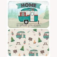 Home is Where We Roam Camping Placemats