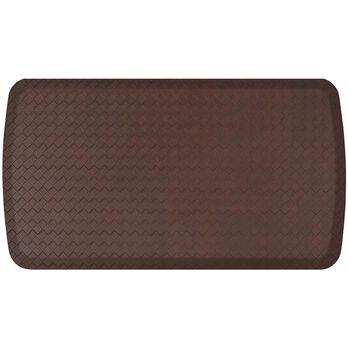 "GelPro Elite Anti-Fatigue Kitchen Comfort Mat, 20"" x 36"", Basketweave Truffle"