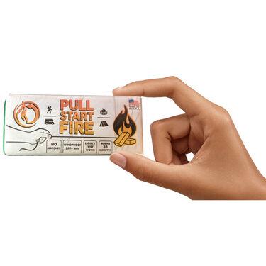 PULL START FIRE Firestarter, 3-Pack