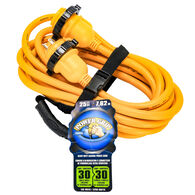 Camco PowerGrip 25' Marine Extension Cord With Locking Ends, 30 Amps
