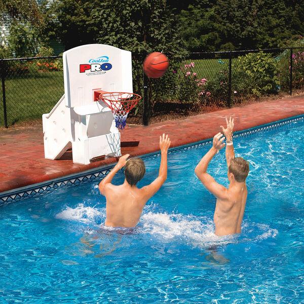 Swimline CoolJam Pro Basketball Hoop, Inground Pools
