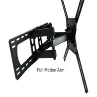 """Mount-32""""-80"""" Full Motion TV-Double Arm with HDMI Cable"""