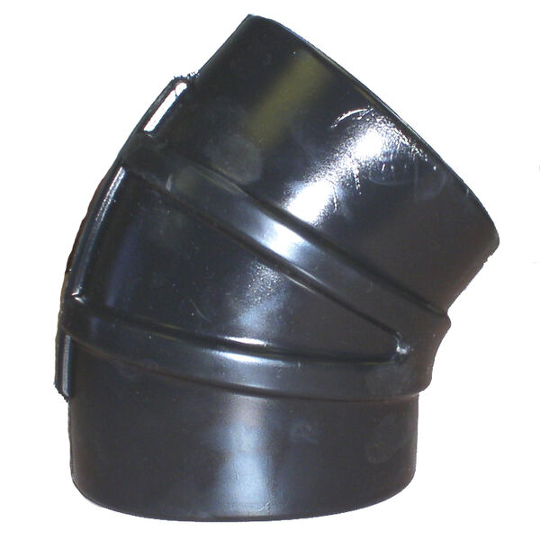 """Shields 3"""" EPDM 45° Elbow With Clamps"""