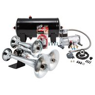 Chrome Triple Truck Air Horn Kit
