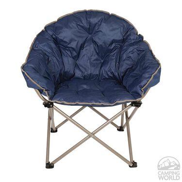 Navy Club Chair
