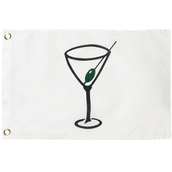 "Cocktail Flag, 12"" x 18"""
