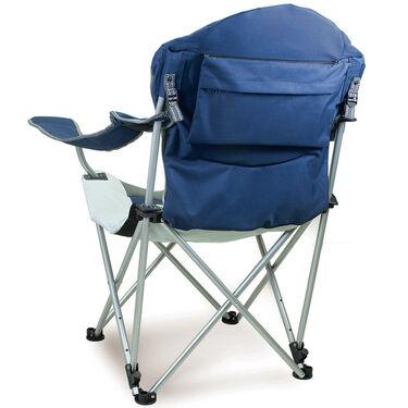 Reclining Camp Chair- Navy