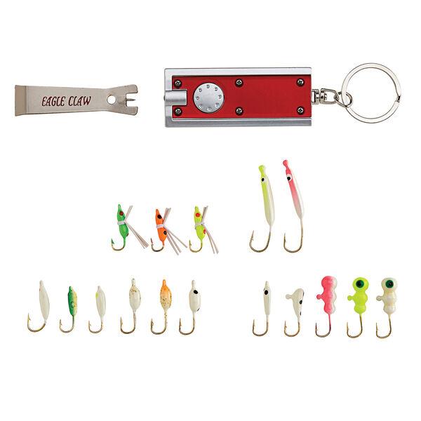 Eagle Claw Glow Ice Kit, 18-Pc.