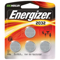 Energizer Specialty Lithium 2032 Coin Battery, 4-Pack