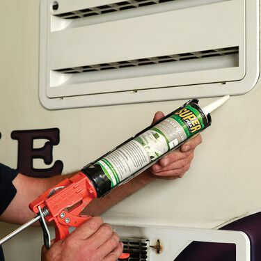 Super Flex Total Protection Non-Sag Sealant, 11 oz. tube - White