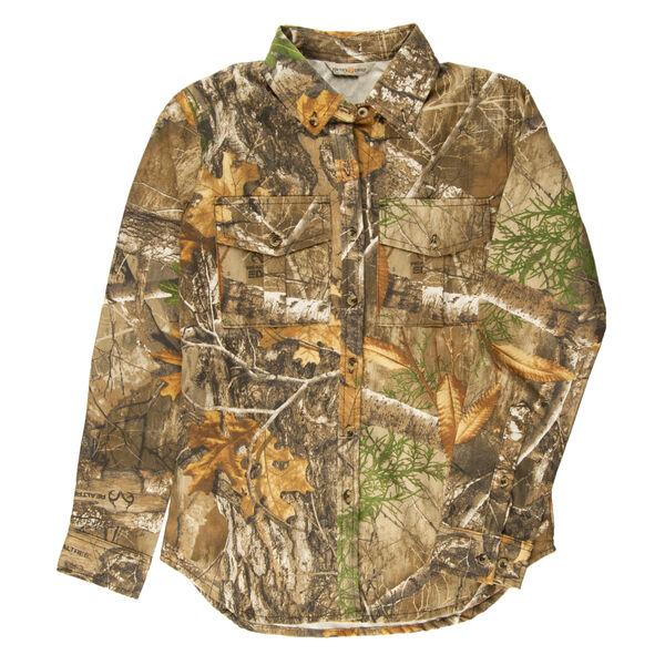 Hunter's Choice Men's Camo Button-Up Shirt