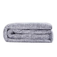 """Dream Theory Velvet 12-lb. Weighted Throw Blanket, Gray, 48"""" x 72"""""""