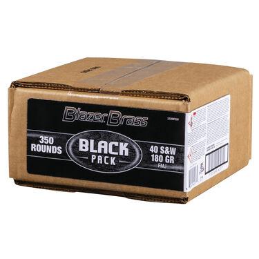 Federal Black .40 S&W Blazer Brass Box