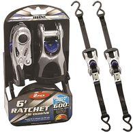 "Titan Ratchet Tie Down, 1"" x 6', 1800 lbs., 2 Pack"