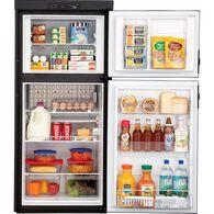 Dometic Americana DM2852RB 2-Way Refrigerator, Double Door, 8.0 Cu. Ft.