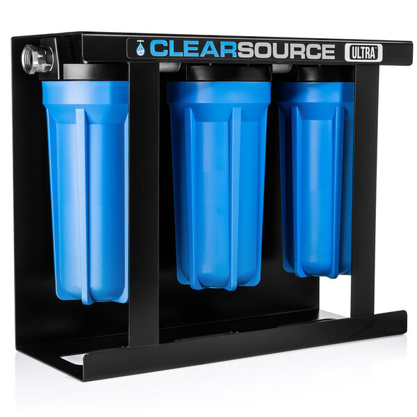 Clearsource Ultra Three Canister RV Water Filter System