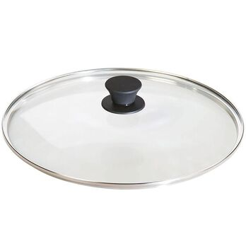 "Lodge Cast Iron 12"" Tempered Glass Lid"