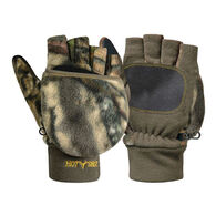 HOT SHOT Youth Bulls-Eye Fleece Pop-Top Mitten