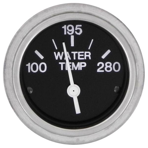 """Sierra 2"""" Water Temperature Gauge, 100°-280°"""