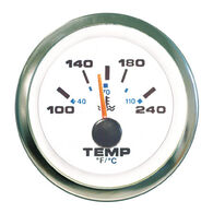 "Sierra White Premier Pro 2"" Water Temperature Gauge"