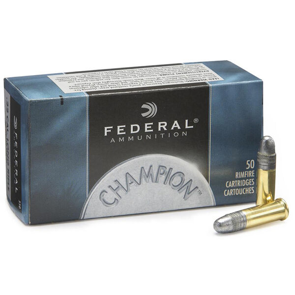 Federal Premium Champion Target Ammo, .22 LR, 40-gr., LRN