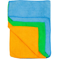 Detailer's Choice Microfiber All-Purpose Auto Cloths, 3-Pack