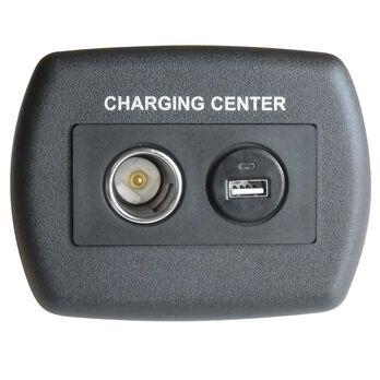 USB 12 Volt Plastic Charger - Black