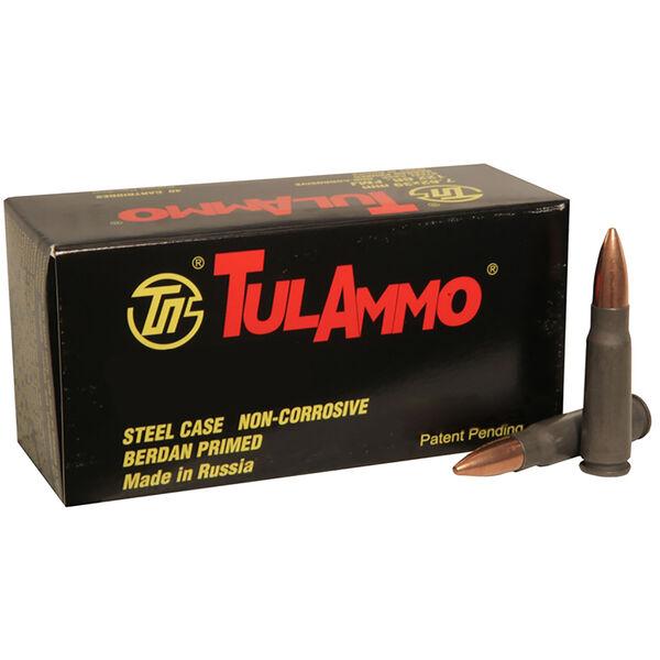TulAmmo Rifle Ammunition, 7.62x54mmR, 148-gr., FMJ