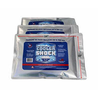 "Cooler Shock Reusable Ice Packs, Large, 10"" x 14"""