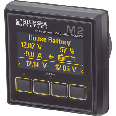 Blue Sea Systems M2 DC SoC OLED Digital Monitor