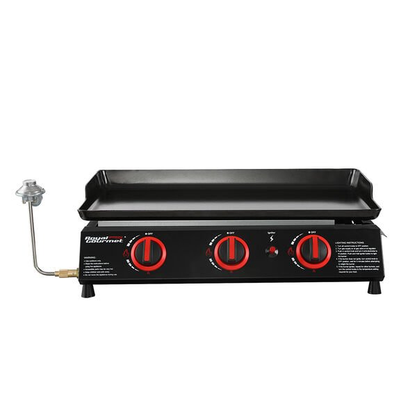 Royal Gourmet Portable Tabletop Gas Grill Griddle