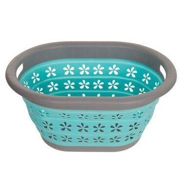 Pop & Lock Collapsible Laundry Basket